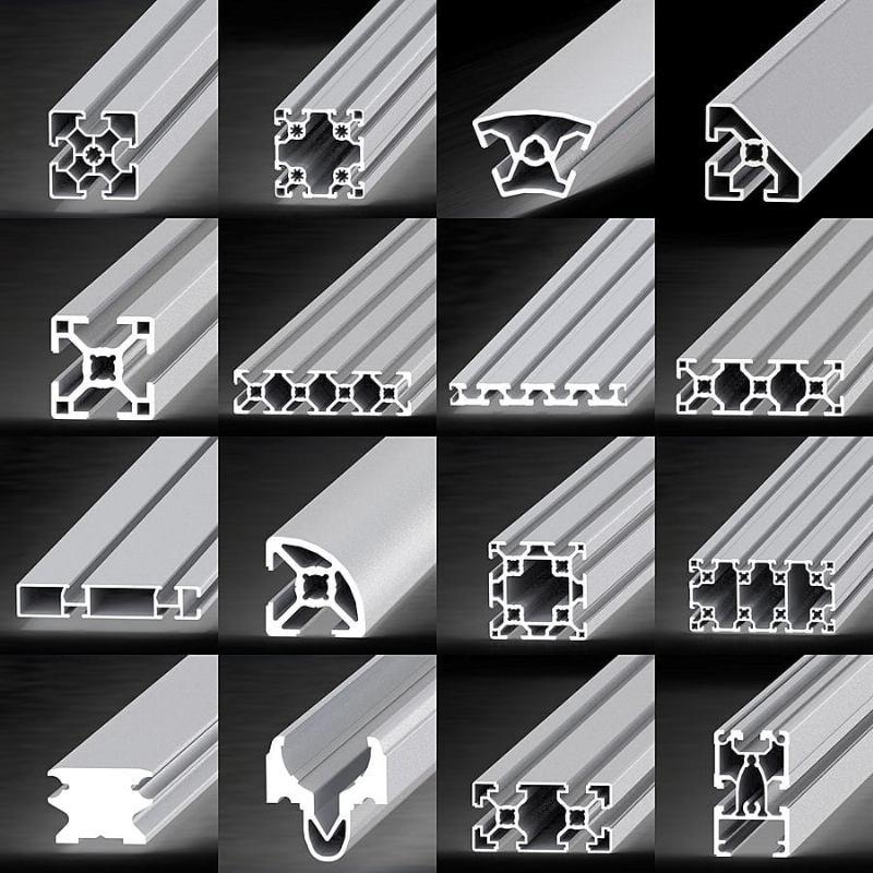 Industrijski aluminijski profil i dodaci