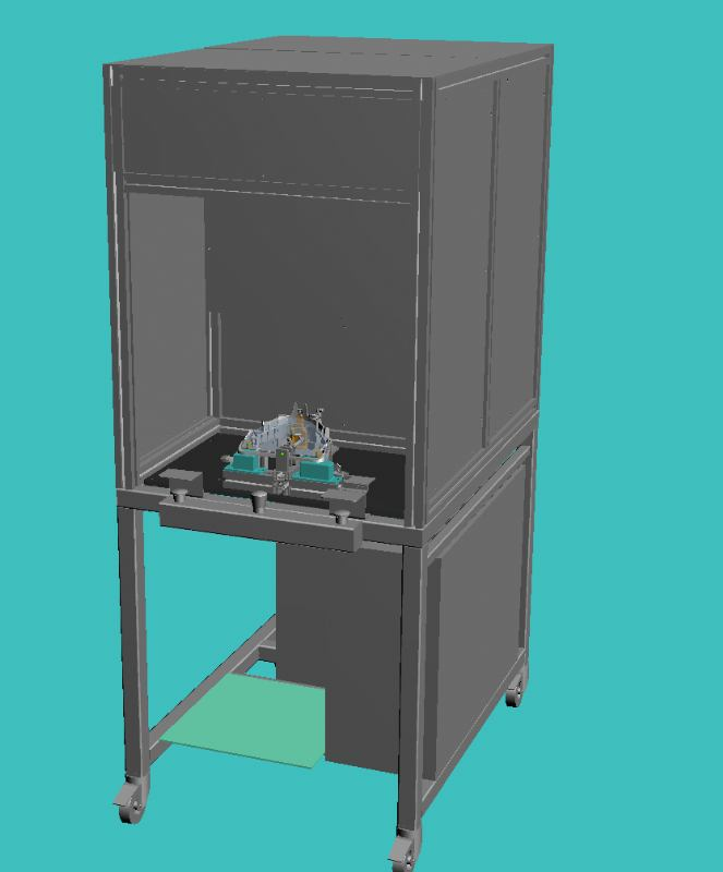 Automat za kontrolu - Dessous visiere