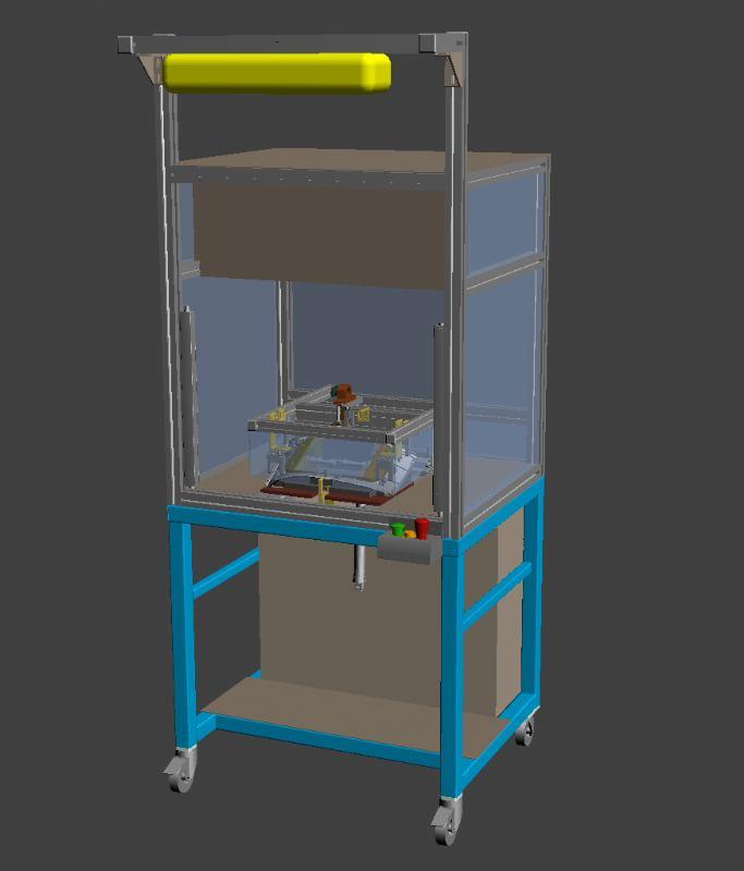 Automat za kontrolu - Habillage passager